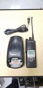 Motorola Xts 5000 Model Ii 700 800mhz Two Way Radio Xts5000 H18ucf9pw6an
