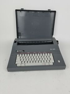 Smith Corona Sl460 Electric Electronic Portable Typewriter With Cover For Parts