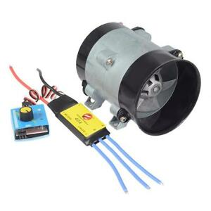Car Electric Supercharger Turbo Intake Fan Boost 12v W Electronic Speed Control