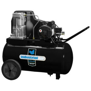 Industrial Air 1 9 Hp 120v 240v 20 Gal Aluminum Air Compressor Ip1982013 New