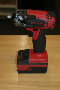 Snap On Cordless 18v Ct8810a 3 8 Impact Wrench Tool W 18v Battery 11881
