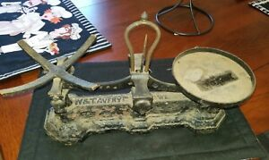 Antique W T Avery Cast Iron Scale