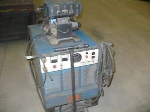 Miller Deltaweld 450 Millermatic S 52a Single Feed Wire Feeder With Cart