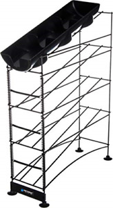 San Jamar C8503wf Wireworks 3 Tier Cup Dispenser With Lid Tray