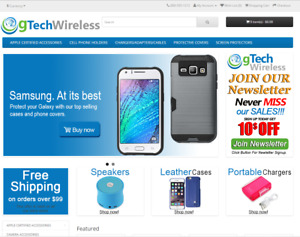 Wireless Products Turnkey Website For Sale Established Domain