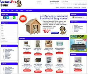 Pet Products Turnkey Website For Sale Established Domain Website