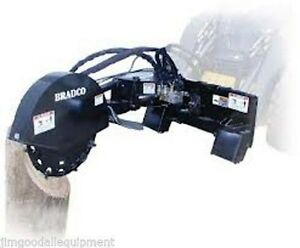 Stump Grinder High Flow grinds 12 Below Ground bradco Sg30 Fits All Skid Steers