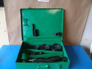 Greenlee 7310 Hydraulic Knockout Punch And Die Set 1 2 To 4