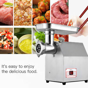 Electric Meat Grinder Commercial Machine Stainless Steel Ac 110v 170r min 800w