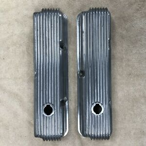 Vintage Cal Custom Fe Ford Mustang Shelby 390 427 428 Aluminum Valve Covers Nice