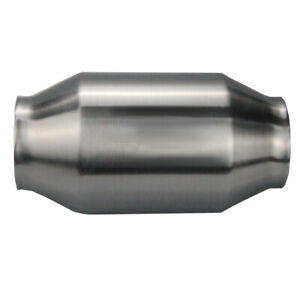 New 3 Catalytic Converter High Flow Spun Metallic Cat