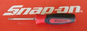 Snap On Tools T15 Torx Red Soft Grip Handle Screwdriver Sgdtx315b Ships Free