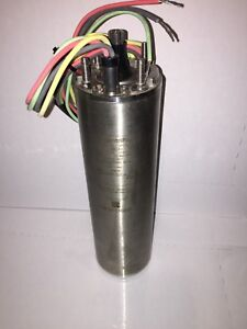 M15412 01 Centripro 1 5hp 1 10kw 230v 1 ph 3450rpm 3 wire Submersible Motor