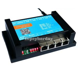4 In 4 Out 10a Relay 4 Port Network Switch Control Board For Web Android Control