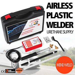 Mini Weld Model 7 Airless Plastic Welder Variable Temperature Any Type Portable