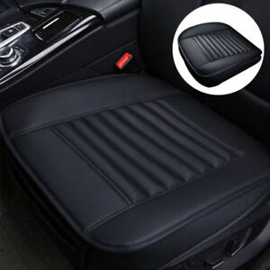 Universal Car Pu Leather Bamboo Charcoal Seat Cover Breathable Pad Chair Cushion
