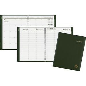 At a glance 2019 Weekly monthly Appt Book 8 14 X 10 7 8 Aag70950g60