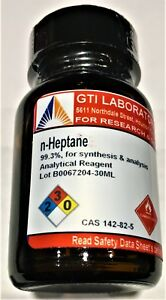 N heptane 99 For Synthesis Analysis Analytical Reagent