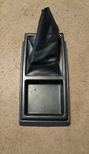 1984 1988 Toyota Pickup Truck Sr5 Hilux Oem Shifter Boot Center Console Blue