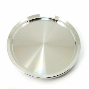 American Racing Vintage Forged Machined Silver 3 Od Flat Wheel Center Hub Cap