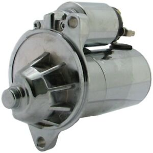 New Chrome Starter For Sbf Ford Engines 289 302 351w 351c 3hp W At F7su 11000 A