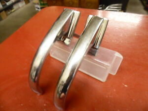 1948 Ford Exterior Door Handle Pair Stainless