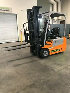 Fe18z fe20z Electric Three Wheel Forklift