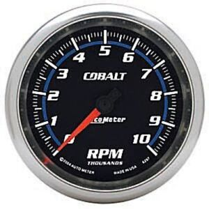 Autometer 6297 3 3 8 Cobalt In dash Tachometer Gauge 0 10 000 Rpm