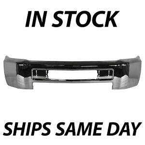 New Chrome Front Bumper Face Bar For 2015 2019 Chevy Silverado 2500hd 3500 Hd