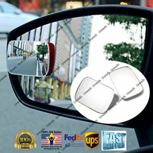 White Blind Spot Mirror Wide Angle Rear View Car Side Mirror For Subaru