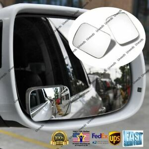Blind Spot Mirror Wide Angle Rear View Car Side Mirror 3m Adhesive For Lexus
