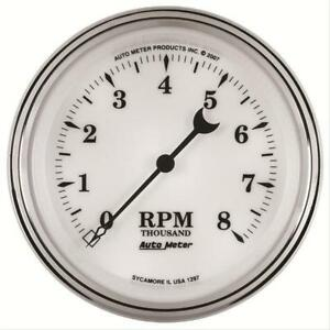 Autometer 1297 Tachometer With Electric Air core 3 375 0 8000 Rpm
