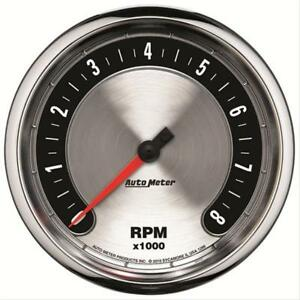 Autometer 1299 American Muscle 5 In dash Tachometer Gauge 0 8 000 Rpm