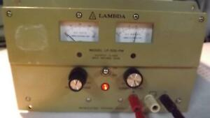 Lambda Lp 532 fm Dc Power Supply T33493