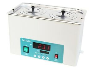 Lab Electric Thermostatic Water Bath 2 Hole New