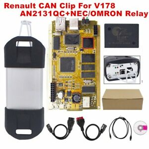 Can Clip V178 For Renault Diagnose Obd2 Diagnostic Interface Scanner Tool Qr