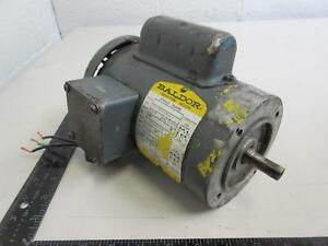 Baldor 33 1426 918 Single Phase Motor 1 6 Hp 115 208 230 V 1725 Rpm Fr 42cz