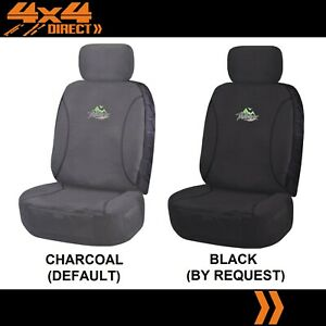 Single 18oz Waterproof Canvas Car Seat Cover For Citroen Sm
