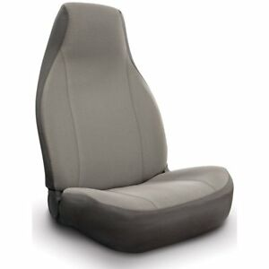 Seat Designs Polyester Covers Set Of 2 Front New Gray Dodge Magnum K020 A5 16gy