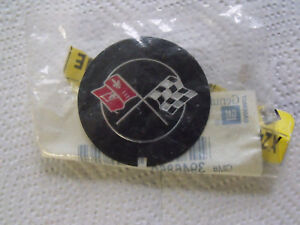 1969 1982 Chevy Corvette Camaro Cross Flag Valve Cover Emblem Gm Oem New