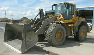 Wheel Loader Volvo 8351 Hours Powershift Erops Ac Joystick Aux Hydraulics