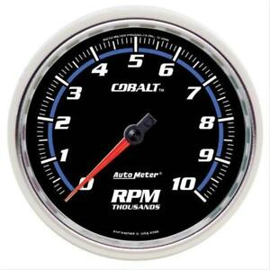 Autometer 6298 Cobalt 5 10 000 Rpm In Dash Tachometer