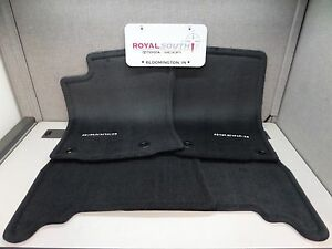 Toyota 4runner 2013 2019 Black Carpet Floor Mats Genuine Oem Oe