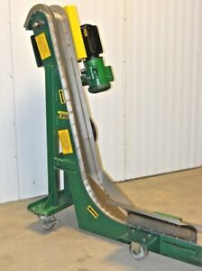 Mpi Beltless Magnetic Incline Chip Conveyor Mpi 6 x58