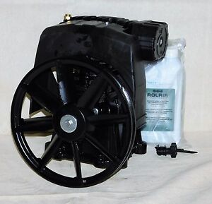 Rolair Pmp12mk103gr Air Compressor Pump 1 Stage 2 Cylinders