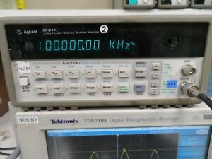 Agilent 33120a 15 Mhz Function Arbitrary Waveform Generator Ng19