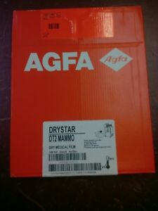 Agfa Drystar Dt2b Mammo Dry Medical Film Pack 100 Nif 20x25 8x10in Miami