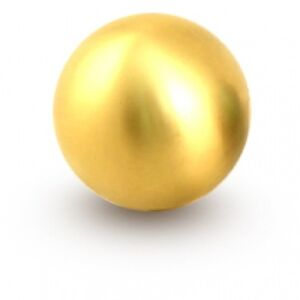 Blox Racing Gold 490 Spherical Shift Knob 10x1 5mm Round Counterweight New