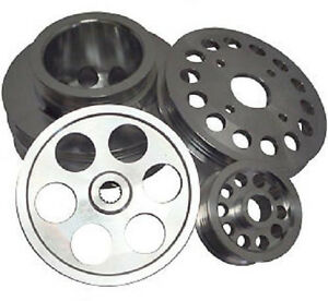 Ralco Rz Performance Underdrive Pulley Kit For 90 93 Nissan 300zx 3 0l Vg30dett