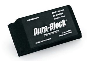 Dura Block Af4417 1 3 Hook Loop Sanding Block 5 5